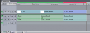Final Cut Pro 7 nested sequence