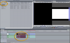 Final Cut Pro 7 adding master clips to bin